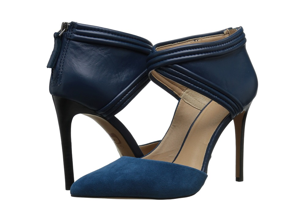 Joe's Jeans - Dae (Teal Leather) High Heels