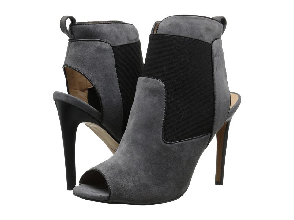 Joe's Jeans - Dare (Dark Grey/Black Suede) High Heels