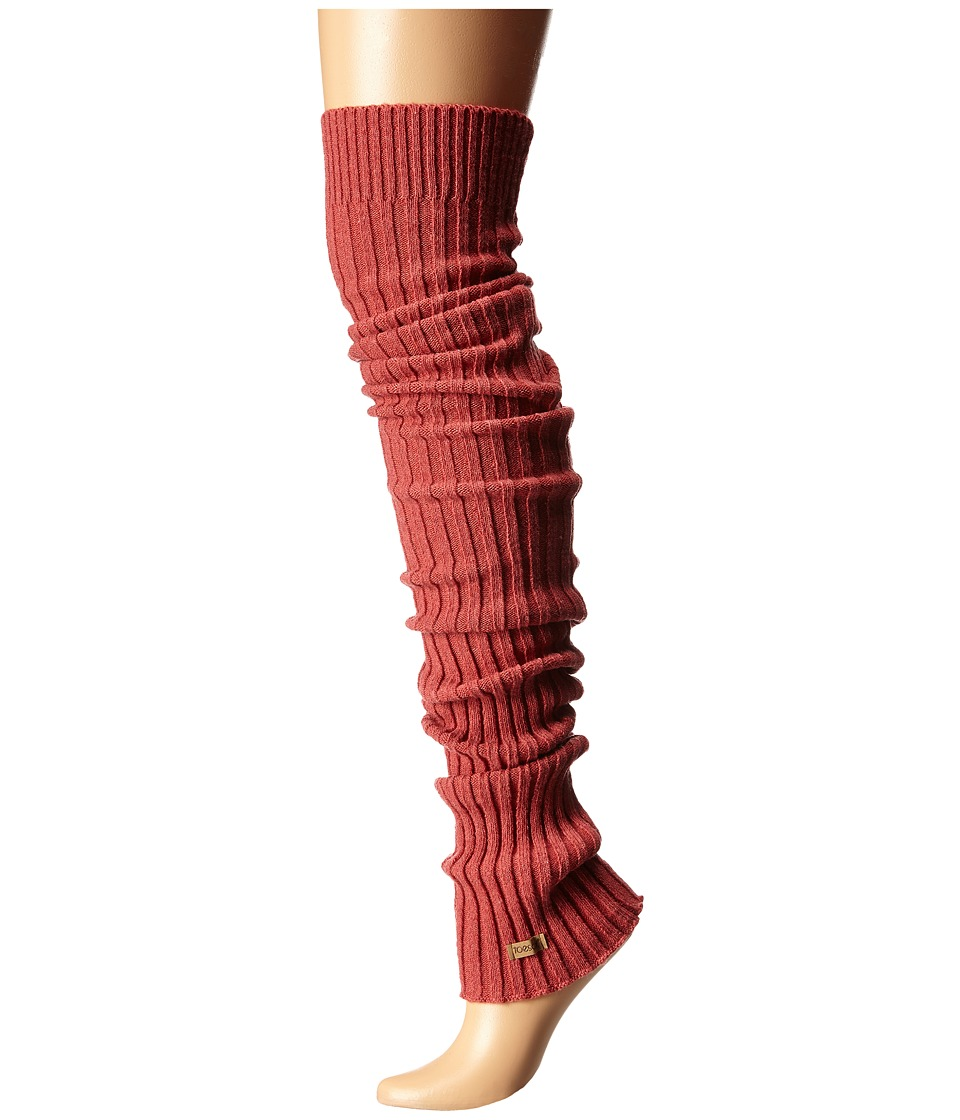 toesox - Leg Warmer Thigh-High (Coral) Women's Knee High Socks Shoes