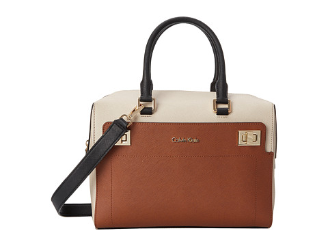 Calvin Klein - Saffiano Satchel (Luggage Combo) Satchel Handbags