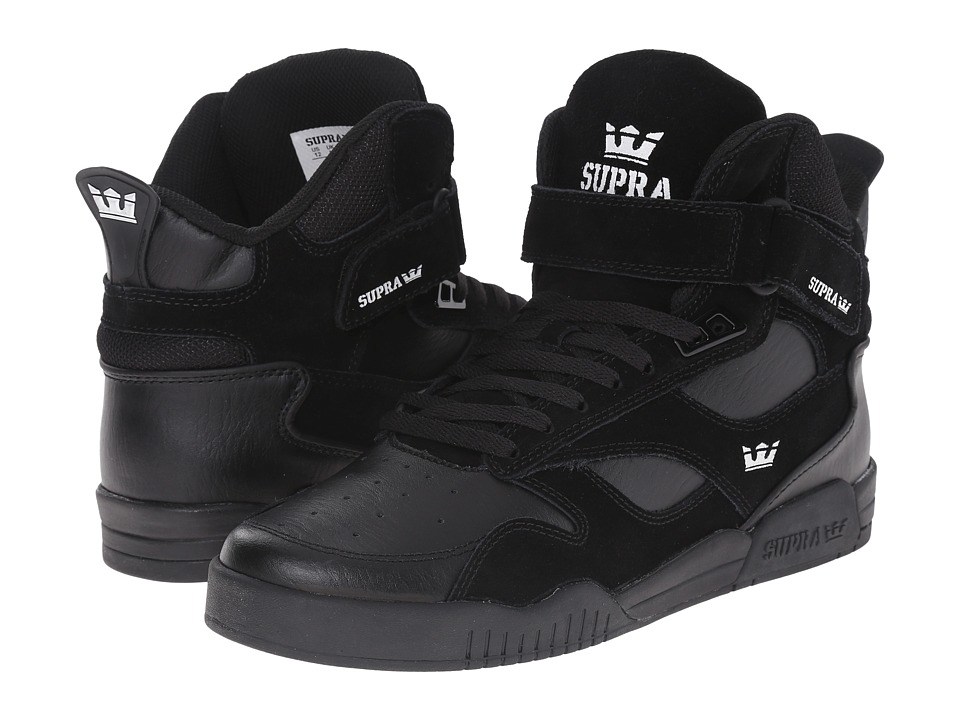 Supra - Bleeker (Black/Black/Black) Men's Skate Shoes