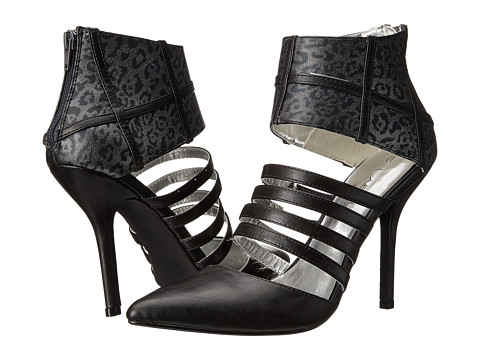 C Label - Luxe-6 (Black/Grey) High Heels