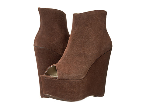 C Label - Michelle-3 (Brown) Women's Wedge Shoes