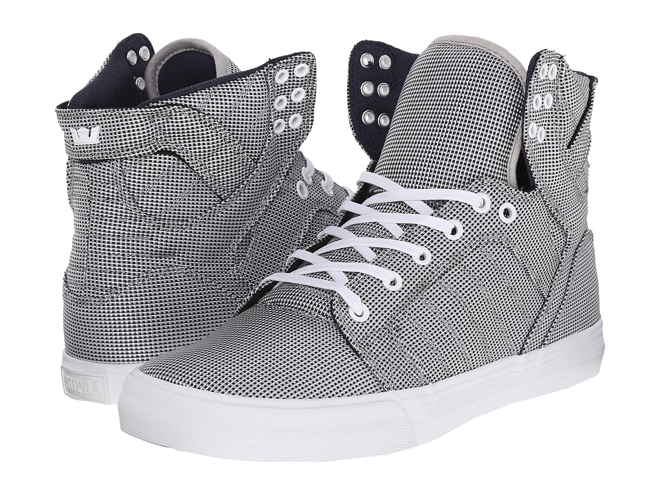 Supra - Skytop (Tri-Tone/White) Men's Skate Shoes