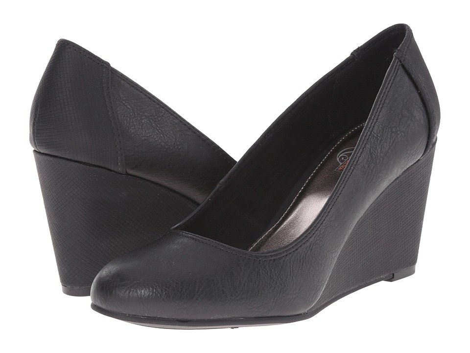 Kenneth Cole Unlisted - Bold Shoe (Black PU) Women's Shoes