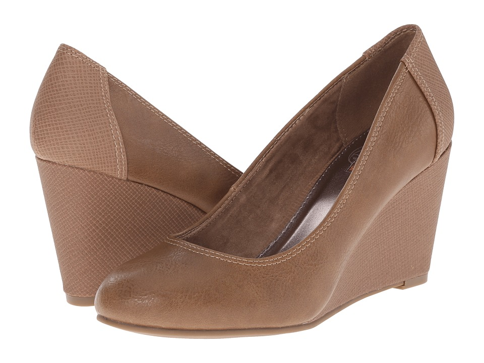Kenneth Cole Unlisted - Bold Shoe (Taupe PU) Women's Shoes