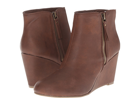 Kenneth Cole Unlisted - Bold Move (Luggage PU) Women's Boots