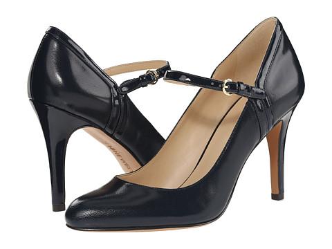 Nine West - Garrie (Navy/Navy Leather 1) High Heels