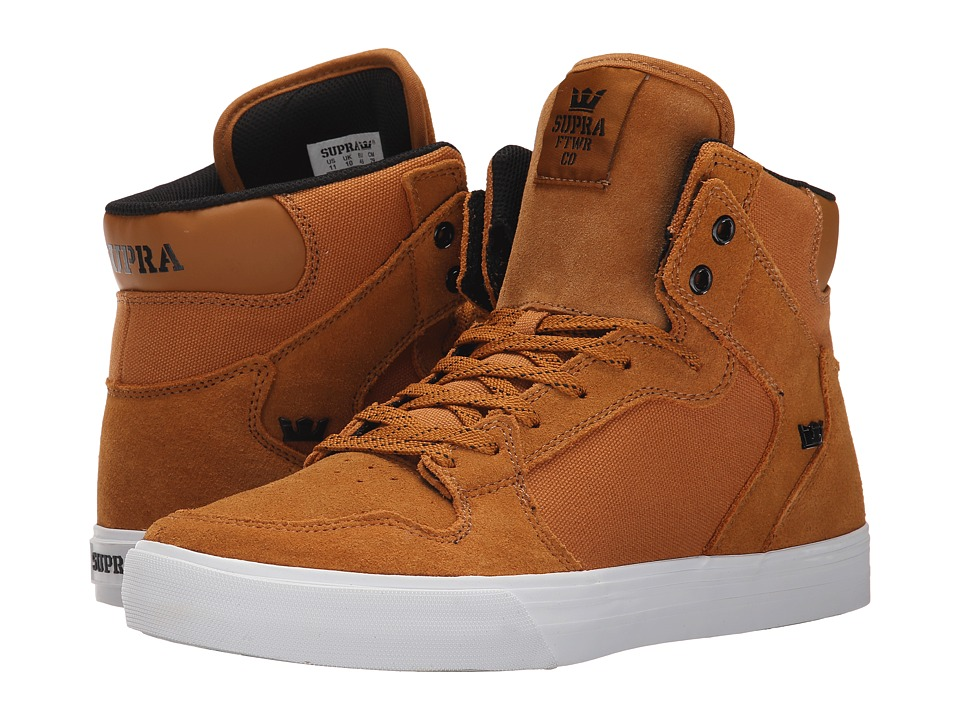 Supra - Vaider (Cathay Spice/White) Skate Shoes