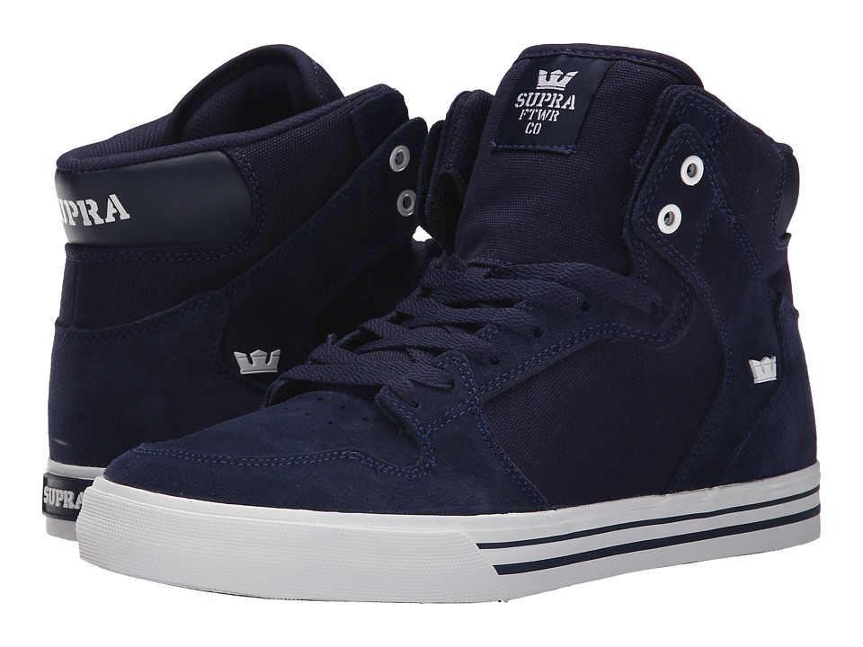 Supra - Vaider (Blue Nights/White) Skate Shoes
