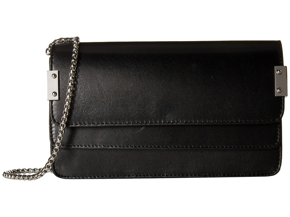 Stuart Weitzman - Chain Wallet (Black Nappa) Wallet Handbags