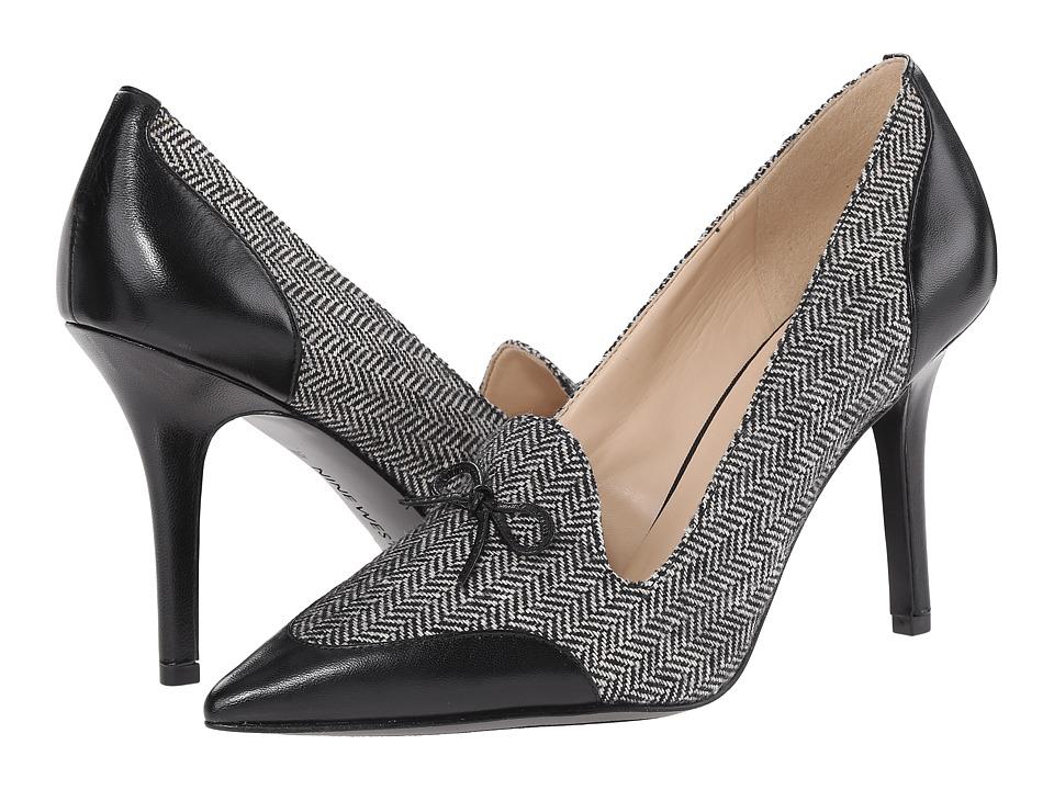 Nine West - Jealouseye (Black/White Black Fabric 1) High Heels