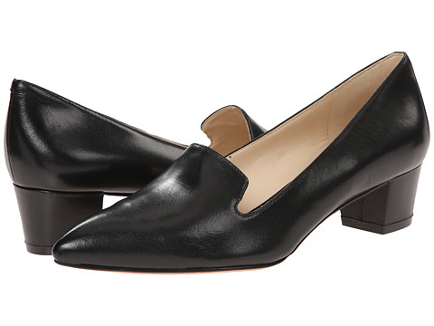 Nine West - Tryme (Black Leather 1) Women's 1-2 inch heel Shoes