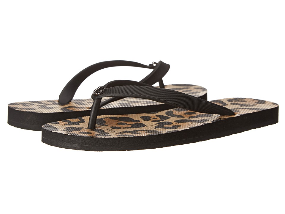 COACH - Alyssa (Black/Natural Wild Beast) Women's Sandals