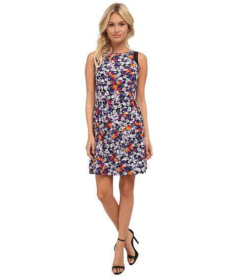 kensie - Color Pops Dress KS8K7640 (Indigo Combo) Women's Dress