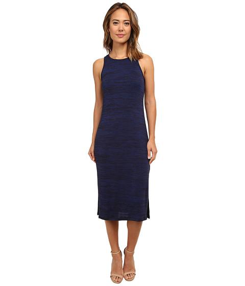 kensie - Drapey Space Dye Dress KS8K7643 (Indigo Combo) Women