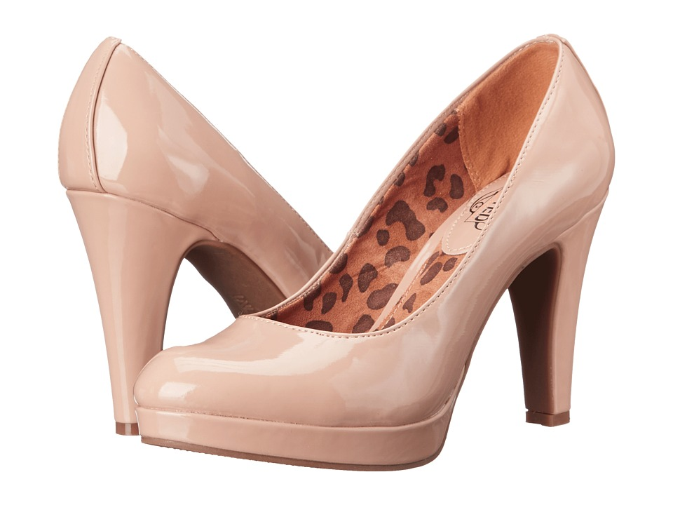 Kenneth Cole Unlisted - Film Maker (Nude Patent PU) Women's Shoes