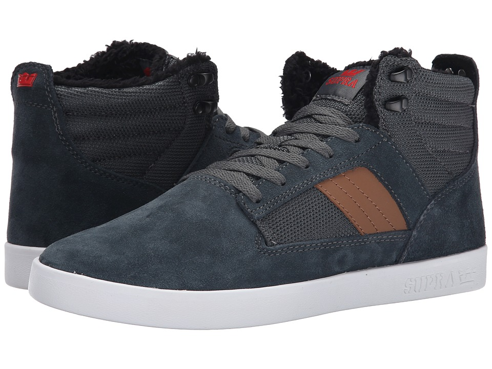 Supra - Bandit (Forest Green/Tan/Red/White) Men's Skate Shoes