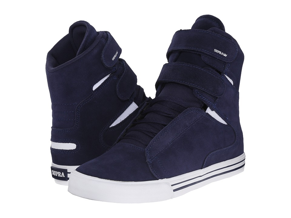 Supra - Society II (Blue Nights/White) Men's Skate Shoes