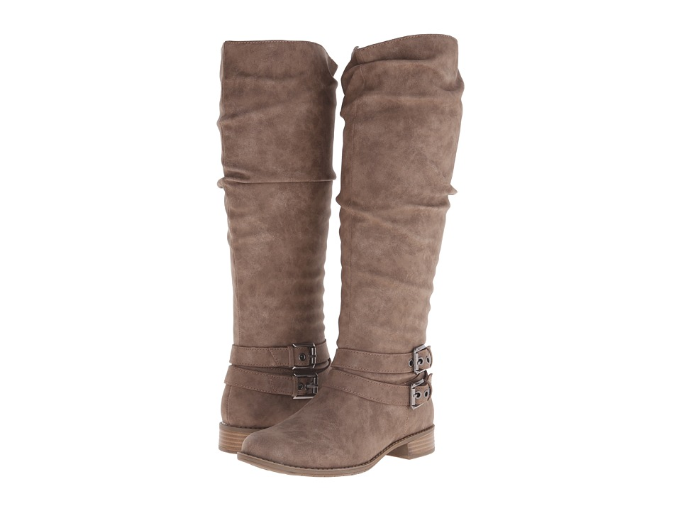 Kenneth Cole Unlisted - Leave A Spare (Taupe Dusted Suede PU) Women