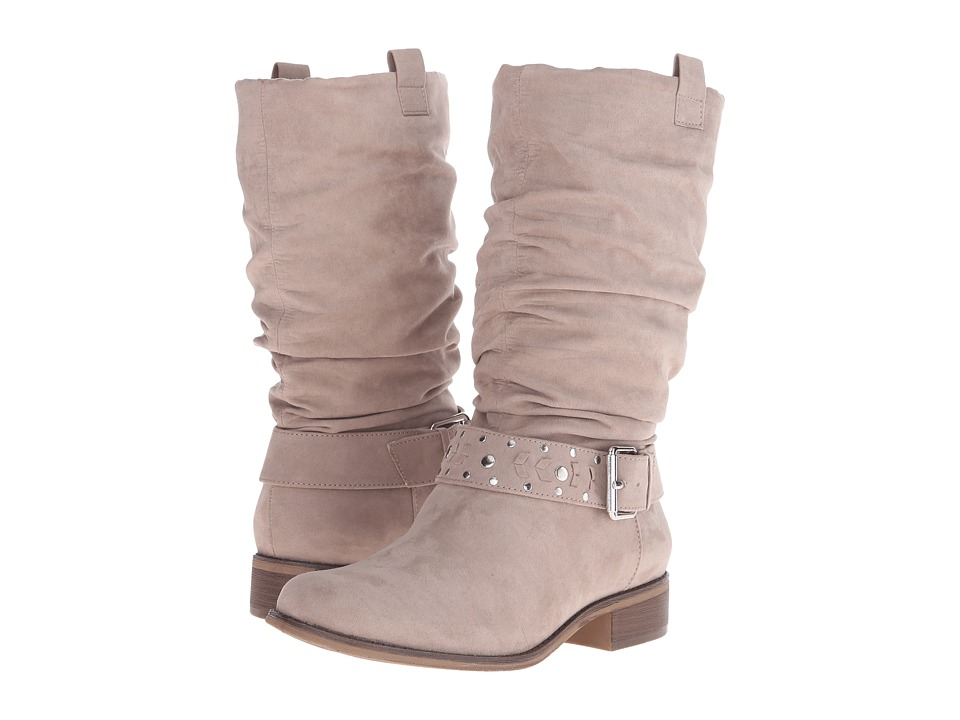 Kenneth Cole Unlisted - Zap That (Taupe Nova Suede) Women's Boots