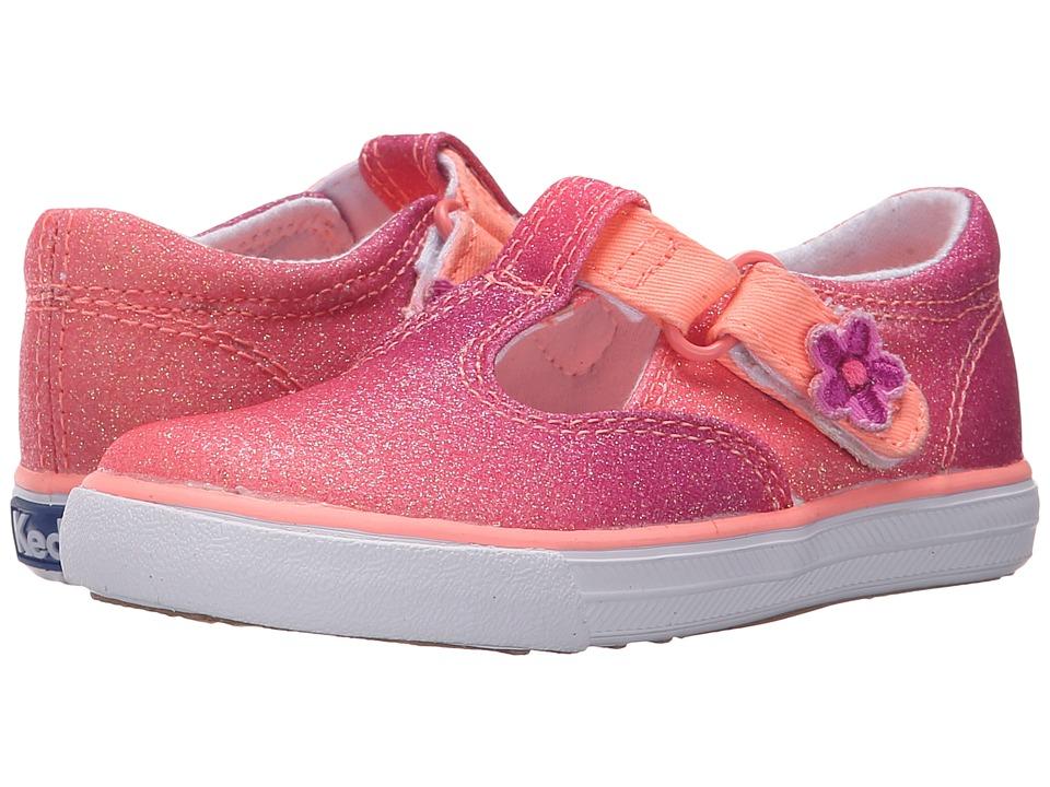 Keds Kids - Daphne (Infant/Toddler) (Coral Fade Sugar Dip) Girls Shoes
