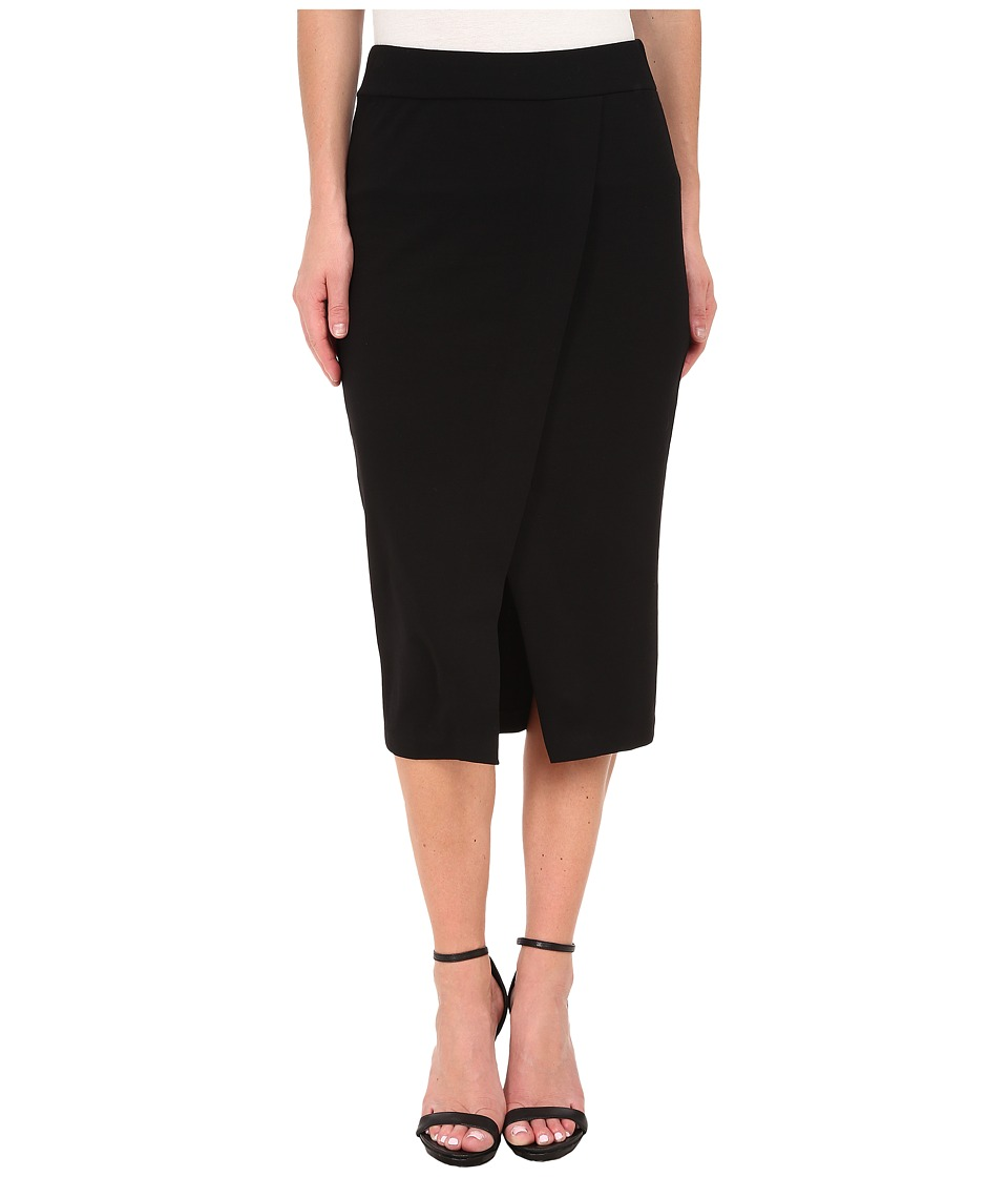 kensie - Ponte Skirt KS8K6155 (Black) Women