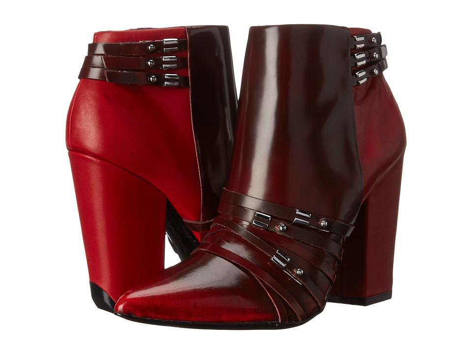 L.A.M.B. - Martini (Oxblood) Women's Boots
