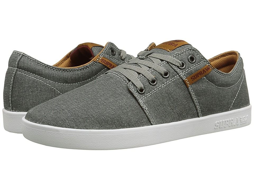 Supra - Stacks II (Grey/Spice/White) Men's Skate Shoes