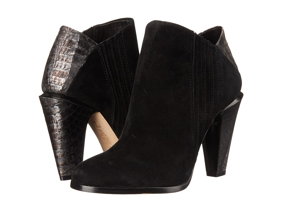 L.A.M.B. Maze Black-Gunmetal Womens Boots