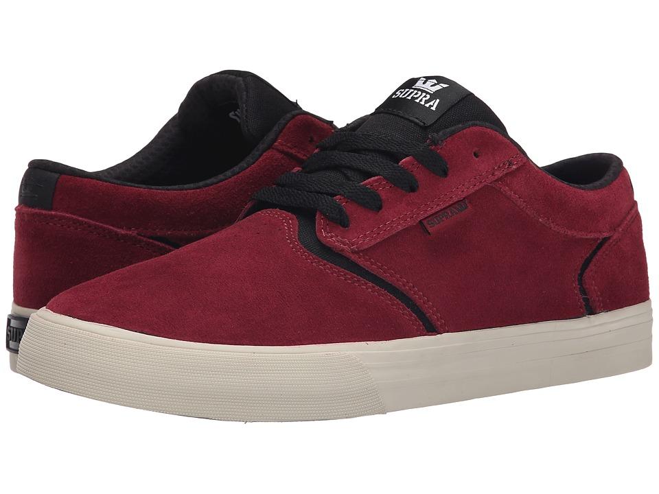 Supra - Shredder (Port/Black/Bone) Men's Skate Shoes