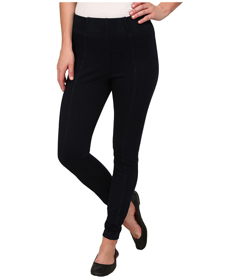 HUE - High-Waisted Super Smooth Denim Leggings (Night Wash) Women