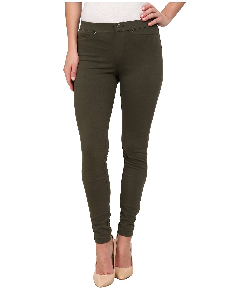 HUE - Super Smooth Denim Leggings (Shadow Olive) Women's Jeans