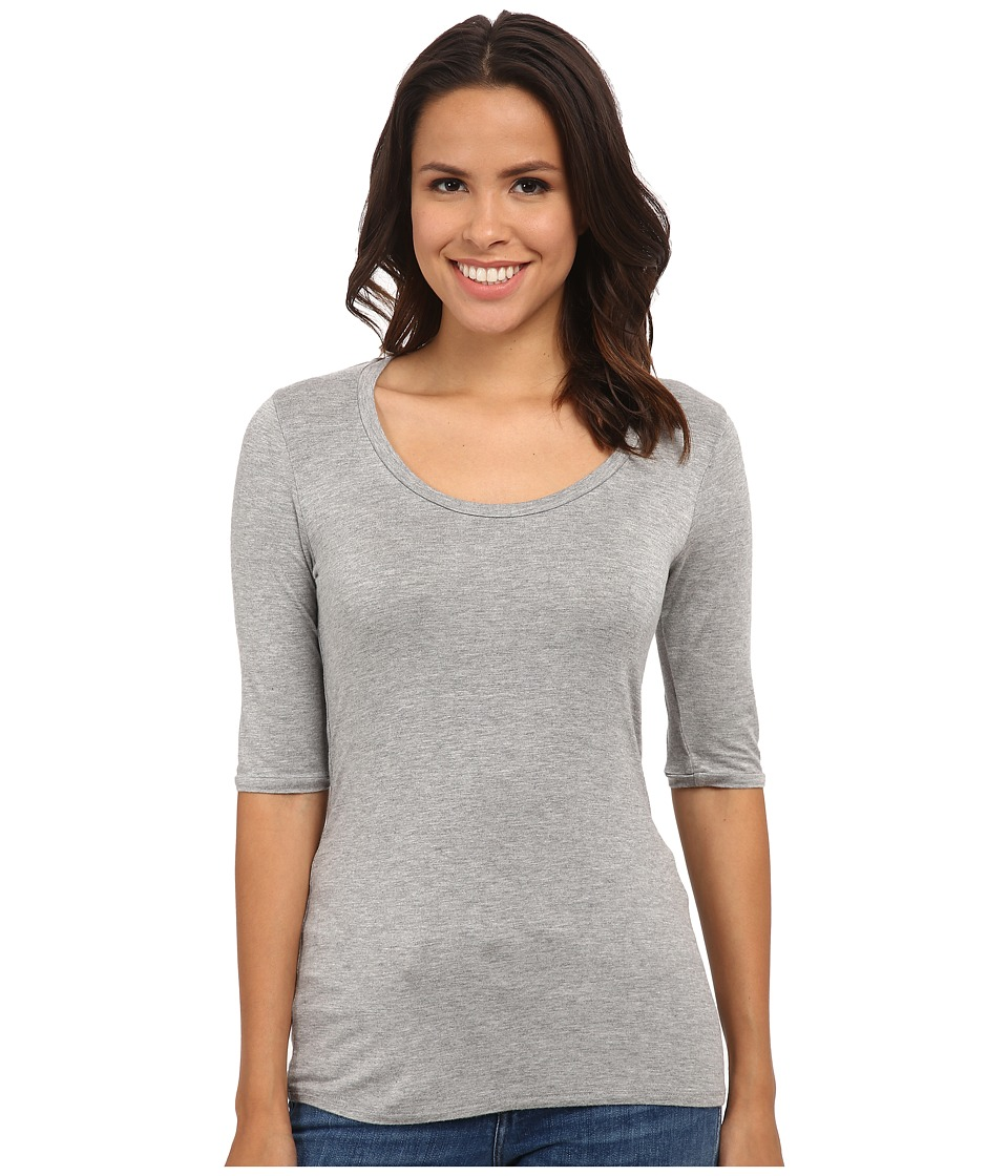 LAmade - Aries Top (Heather Grey) Women's Clothing