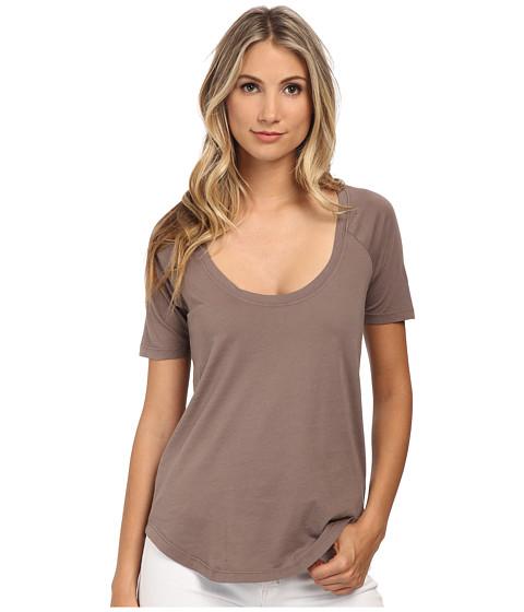 LAmade - Circle Raglan Tee (Beachwood) Women's T Shirt