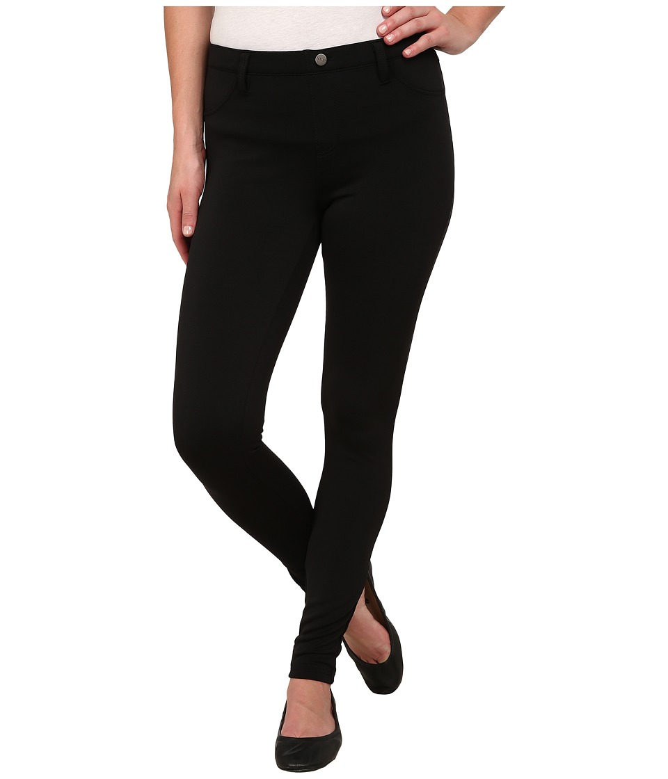 HUE - Scuba Leggings (Black) Women's Casual Pants