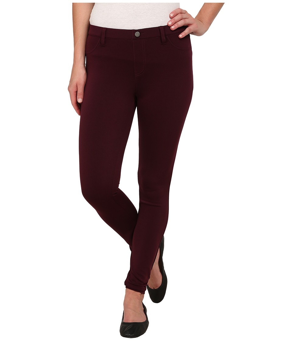 HUE - Scuba Leggings (Deep Burgundy) Women