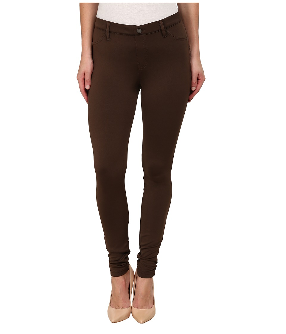 HUE - Scuba Leggings (Chocolate Brown) Women's Casual Pants