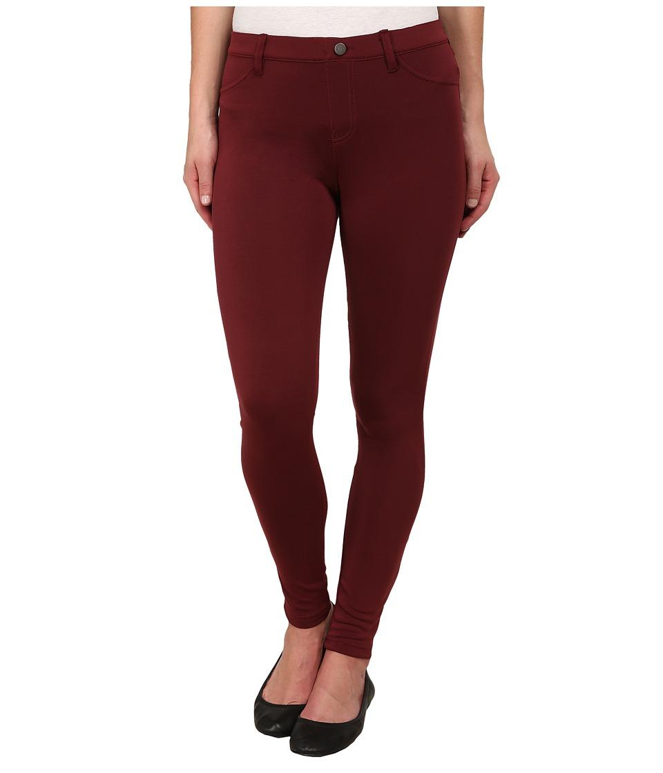 HUE - Scuba Leggings (Mahogany) Women's Casual Pants