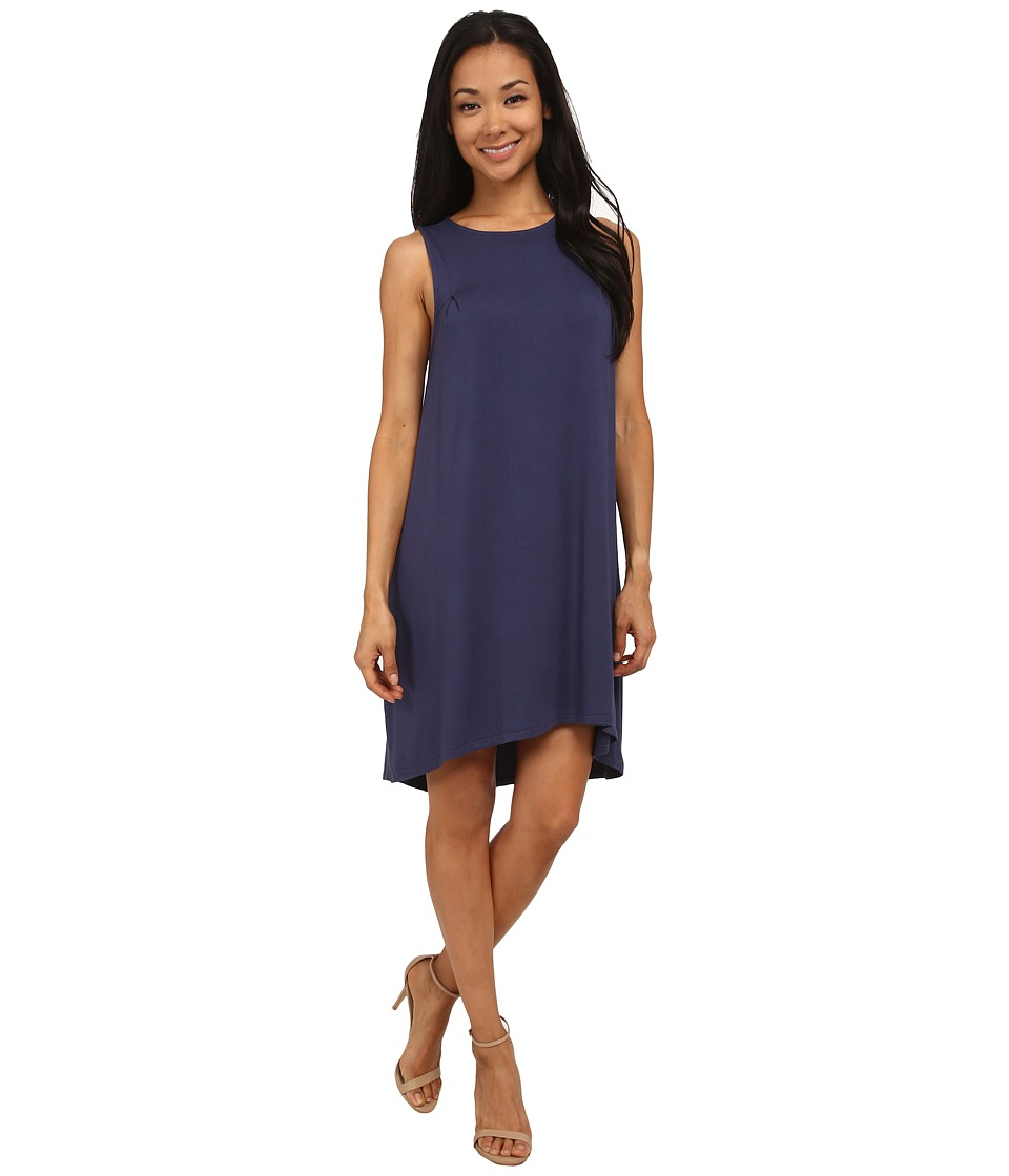 LAmade - Hi Low Tank Dress (City Blue) Women's Dress