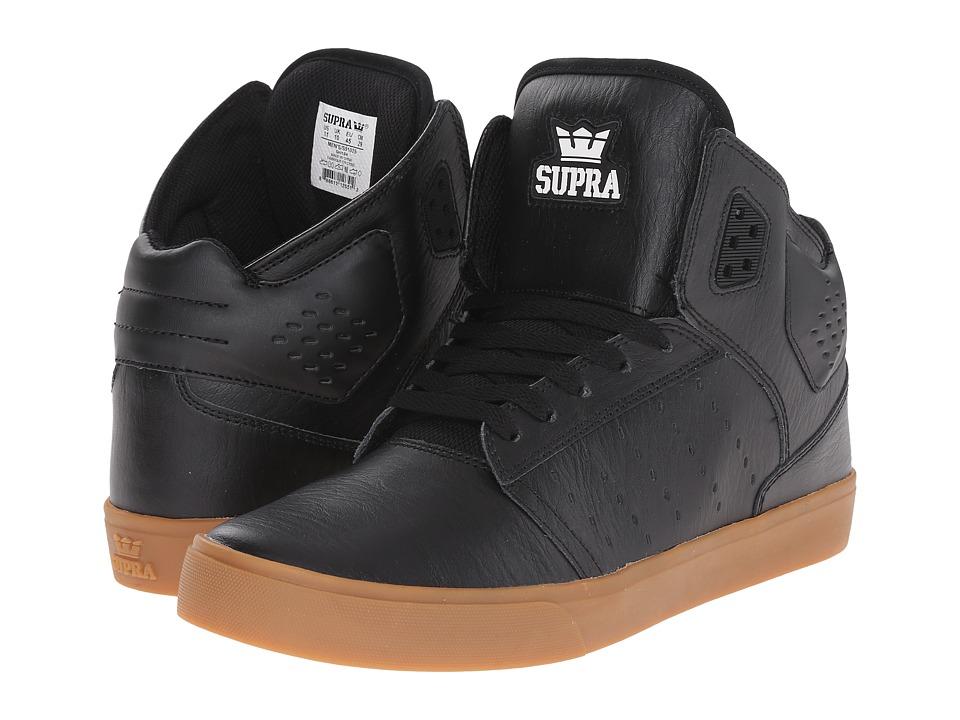 0362c68535a ... UPC 888612126437 product image for Supra - Atom (Black/Gum) Men's Skate  Shoes