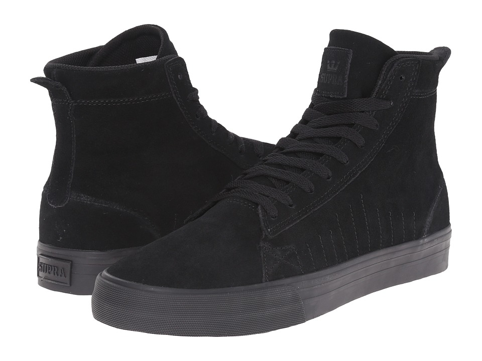 Supra - Belmont High (Black/Black/Black) Men's Skate Shoes