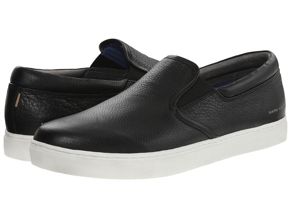 Mark Nason - Gower (Black) Men's Slip on Shoes