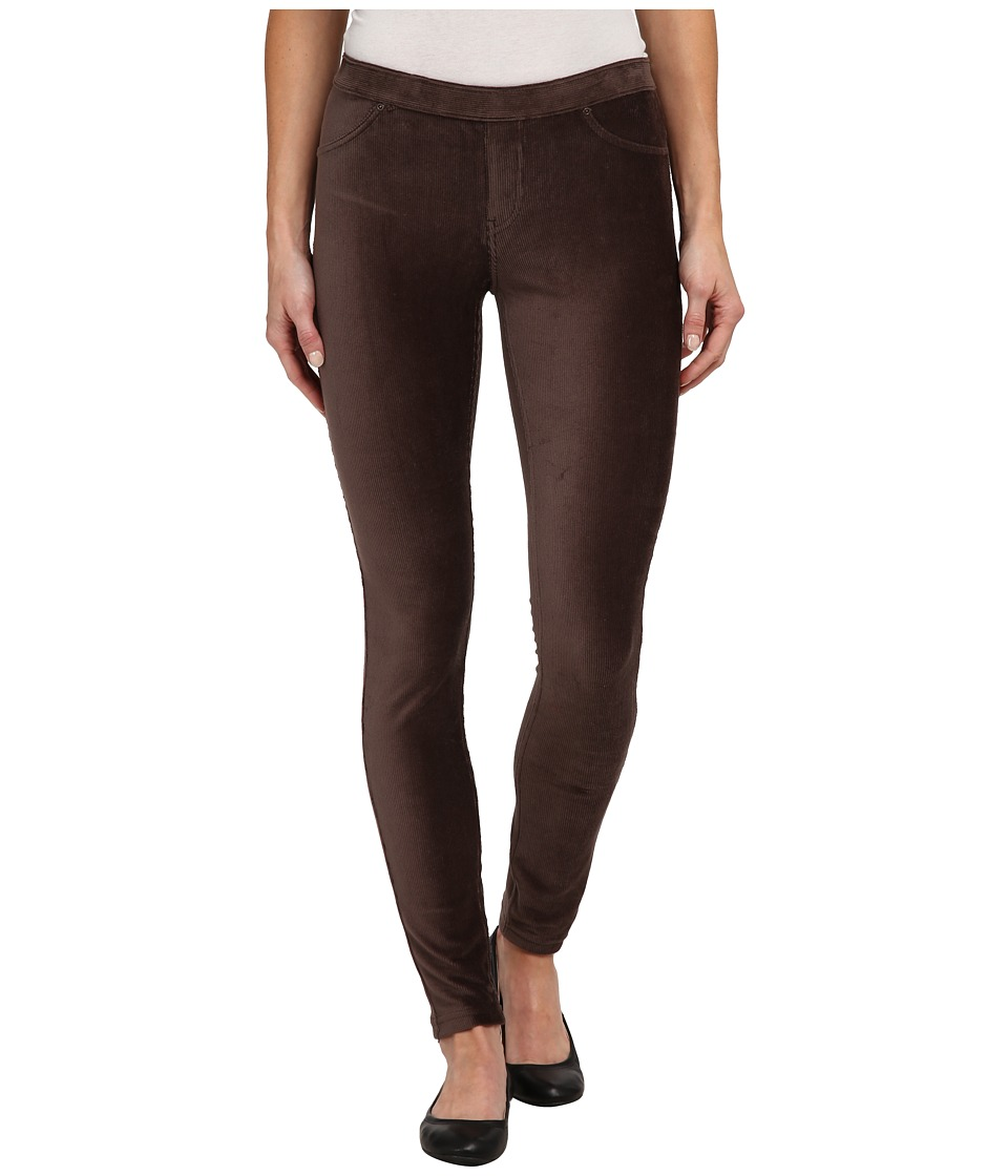 HUE - Corduroy Jeans Leggings (French Roast) Women's Jeans