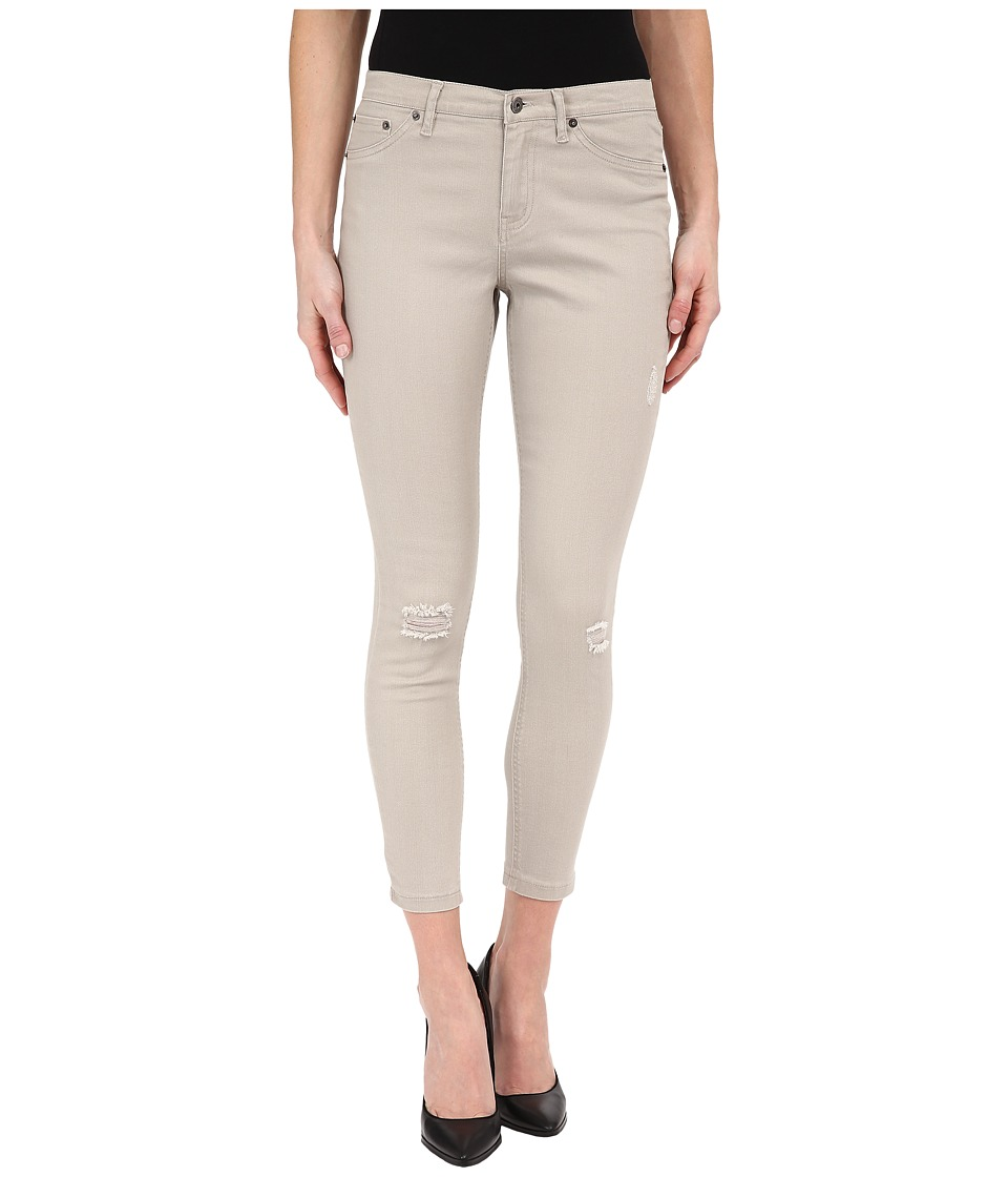 HUE - Ripped Denim Skimmer (Pebble) Women's Jeans