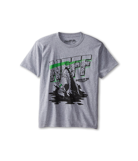 Neff Kids - Bait Tee (Big Kids) (Athletic Heather) Boy