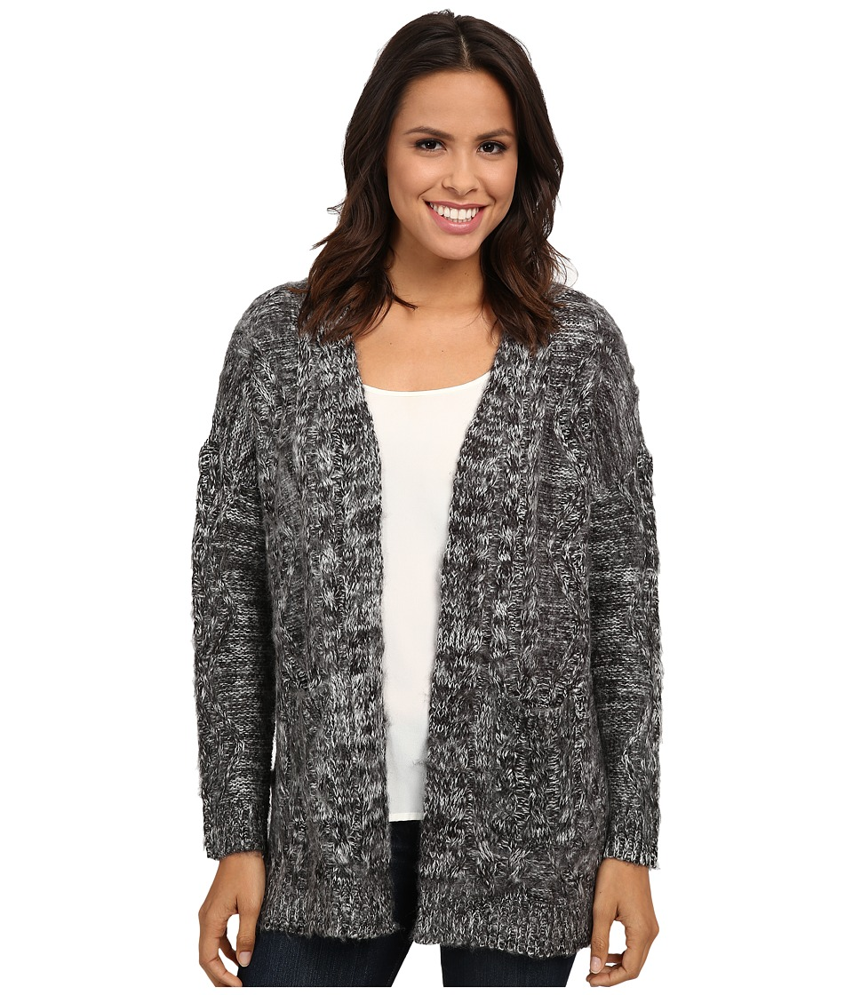 Gabriella Rocha - Enthusiastic Cardigan (Heather Grey) Women's Sweater
