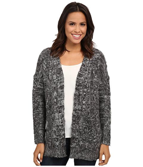 Gabriella Rocha - Enthusiastic Poncho (Heather Grey) Women's Sweater