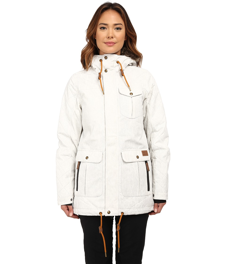 O'Neill - Maad Jacket (Powder White) Women's Coat