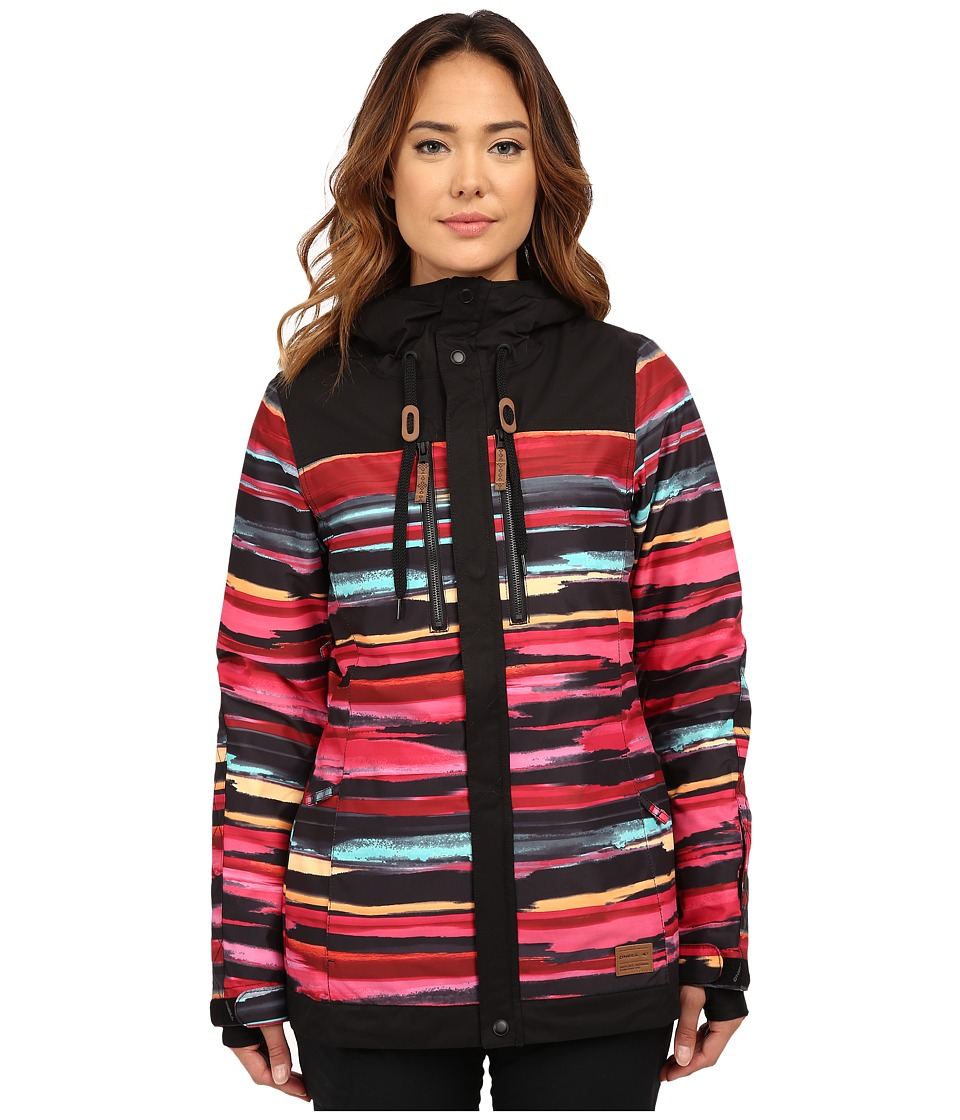 O'Neill - Stencil Jacket (Red) Women's Coat